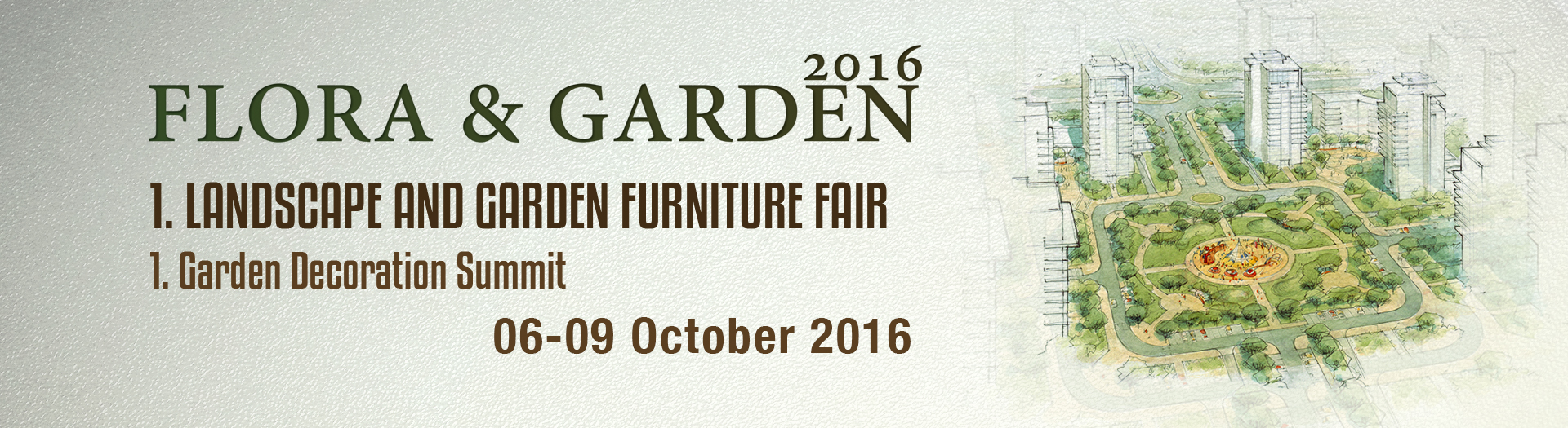 Flora Garden 2016 1. Landscaping And Home Garden Furniture Fair
