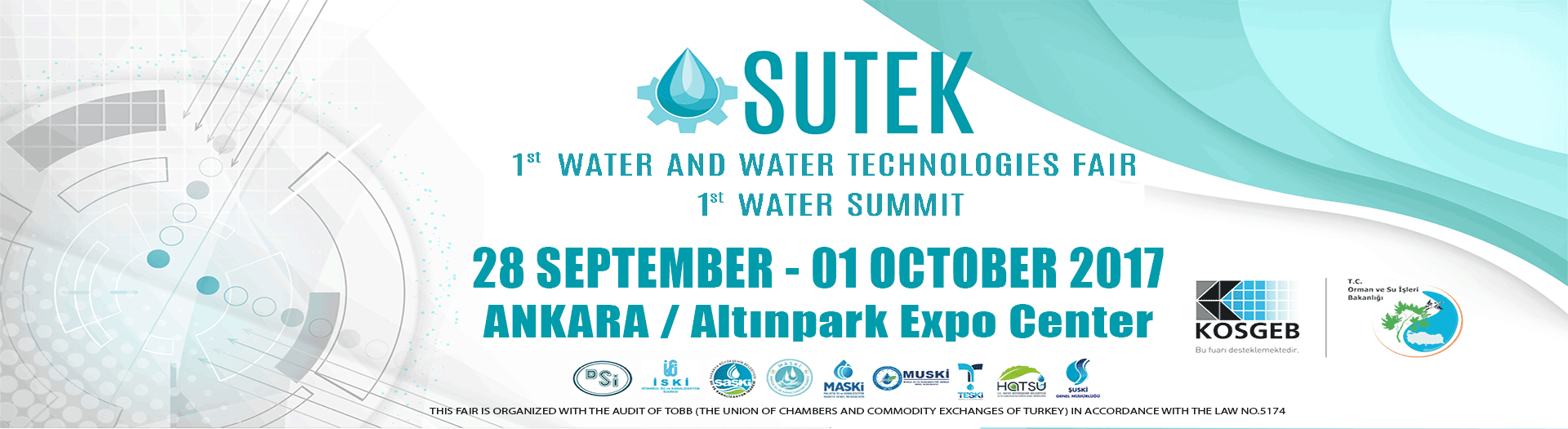 SUTEK 1st WATER AND WATER TECHNOLOGY FAIR